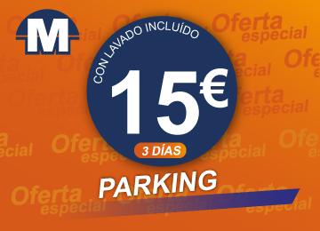 Parking Aeropuerto Málaga 3 días 15 €