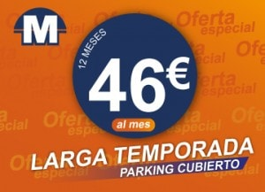 Tarifa parking cubierto