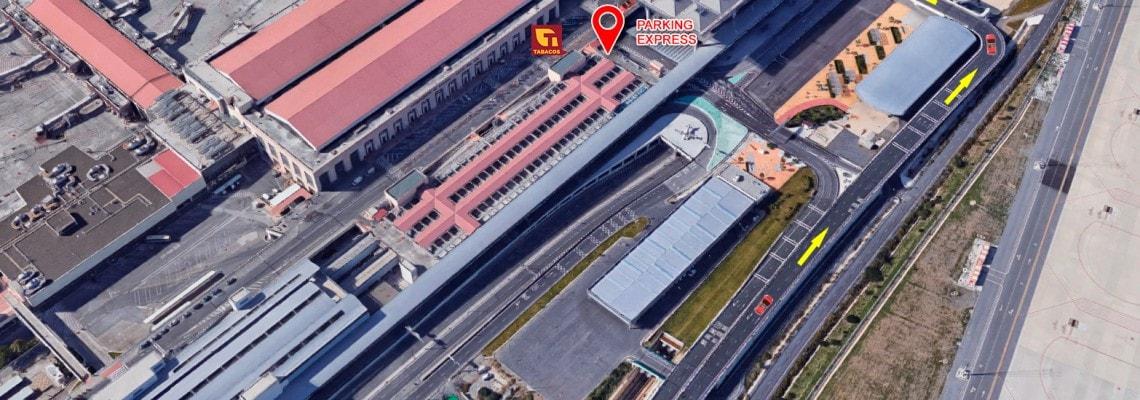 Mapa Marbenjo Parking
