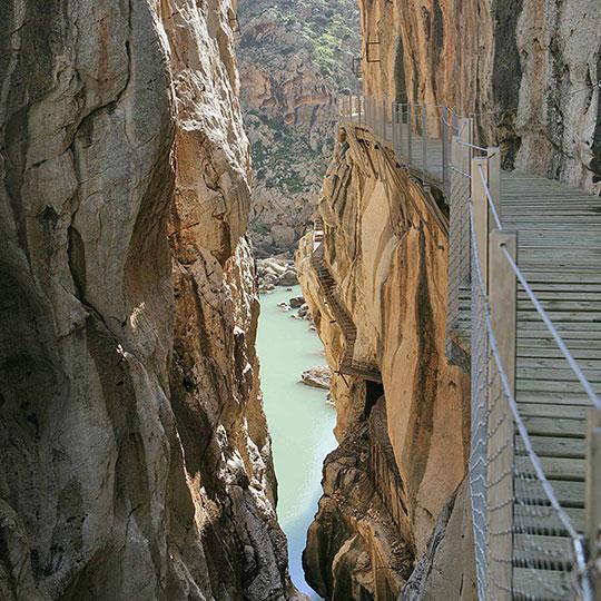 El Caminito del Rey, una ruta de adrenalina - marbenjoparking.com